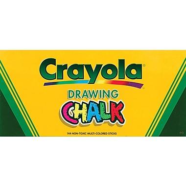 Crayola Drawing Chalk, 144/Pkg