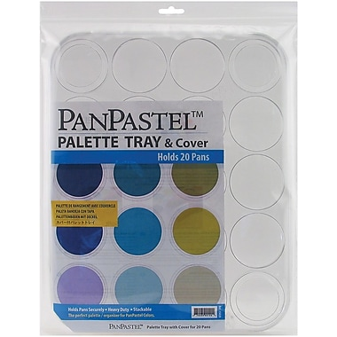 Armadillo Art & Craft PanPastel Palette Tray-20 Cavity