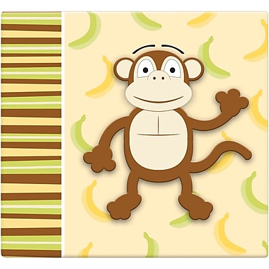 MBI 3D Scrapbook, 12in. x 12in., Monkey