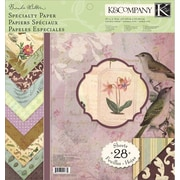 K&Company Flora & Fauna Double-Sided Specialty Paper Pad 12 x 12-38 Sheets