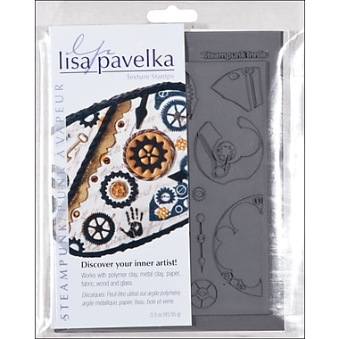 JHB Lisa Pavelka Stamp Set, 2/pkg, Steampunk-Innie & Outtie