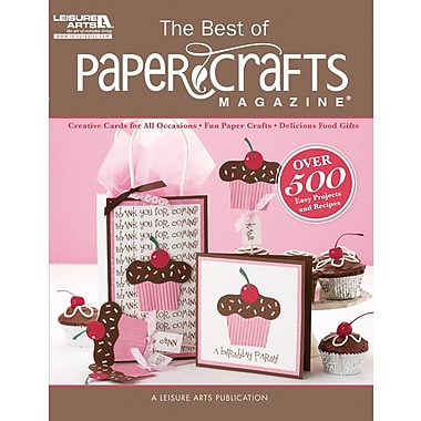 Leisure Arts, Best Of Paper Crafts Magazine