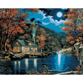 Plaid:Craft Paint By Number Kit, 16in. x 20in., Lakeside Cabin