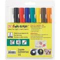 Zig Fabricolor Marker, 2mm Tip, 8/Pkg