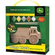 Masterpieces Wood Paint Kit, John Deere Dump Truck