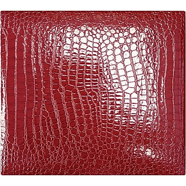 Amanda Blu Faux Croc Scrapbook Album, 12in. x 12in., Red