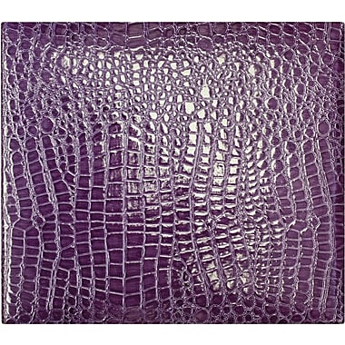 Amanda Blu Faux Croc Scrapbook Album, 12in. x 12in., Purple