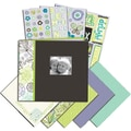 K&Company Mega Scrapbook Kit, 8.5in. x 8.5in., Black & White