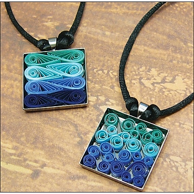 Quilled Creations Quilling Kit, Modern Waves Necklace
