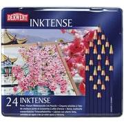 Reeves Derwent Inktense Pencil Set, 24/Tin
