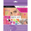 Duncan Tulip Body Art Glitter Tattoo Kit, Neon