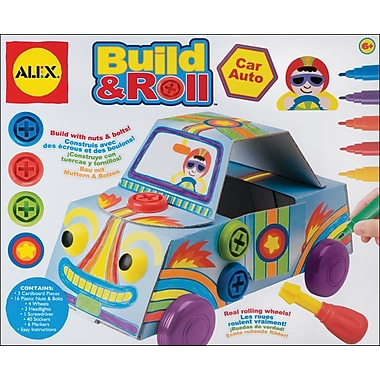 Alex Toys Build & Roll Car Kit