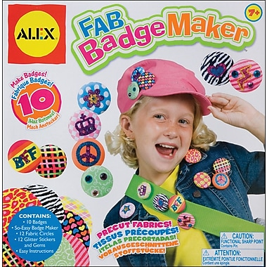 Alex Toys Fab Badge Maker Kit