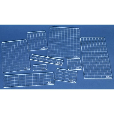 Stampers Anonymous Tim Holtz Acrylic Grid Block Set