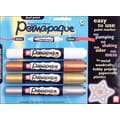 Sakura Permapaque Paint Marker Dual Point, Gold/Silver/Bronze/White