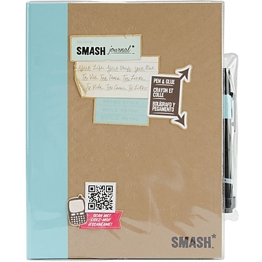 K&Company Retro Blue SMASH Folio, RETRO BLUE