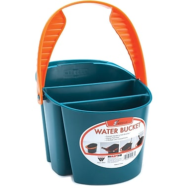 Martin Universal Mijello Blue Artists Bucket, 11.4in. x 7.5in. x 6.3in.