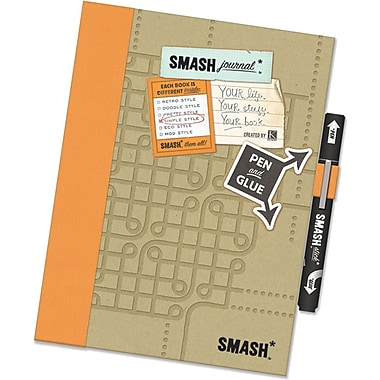 K&Company Simply Orange Smash Folio, Simply Orange