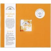 "Doodlebug Storybook Album, 12"" x 12"", Tangerine"