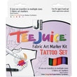Jacquard Products Tee Juice Fabric Art Marker Kit, Tattoo