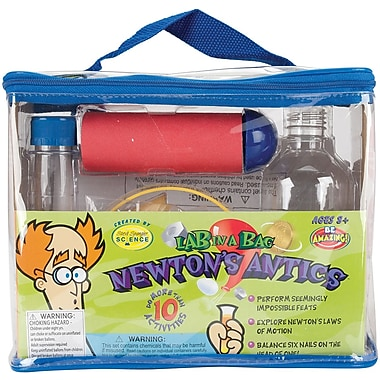 Be Amazing Toys Newton's Antics Lab In A Bag Kit
