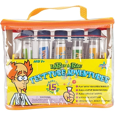 Be Amazing Toys Test Tube Adventures Lab In A Bag Kit