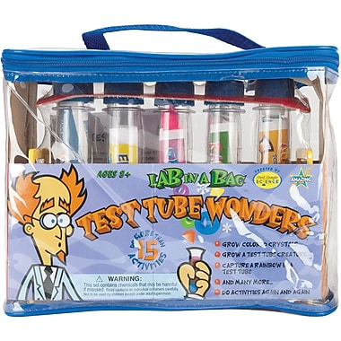 Be Amazing Toys Test Tube Wonders Lab In A Bag Kit