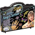 AMAV Glittery Rings And Tattoos Kit
