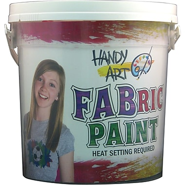 Handy Art Non-toxic Fabric Paint Kit (885060H)
