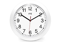 Infinity Instruments Intrinsic Wall Clock, White