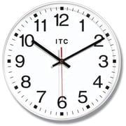 Infinity Instruments Prosaic Business Wall Clocks, White