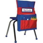 Carson-Dellosa Publishing Chairback Buddy Pocket Chart, Elementary, Blue/Red (CD-158035)