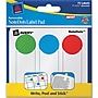 Avery 45295 Notedots Paper Label Pad, Assorted, 1(w)