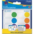 Avery ® 45285 NoteDots Paper Label Pad, Assorted, 3/4in.(W) x 2in.(L), 150/Pack