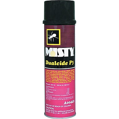 Misty Dualcide P3 Spray Insecticide, 16 oz. Aerosol Can