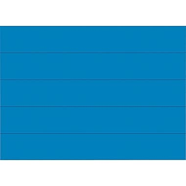 Master Vision 7/8in.(H) x 6in.(L) Dry Erase Magnetic Tape Strip, Blue
