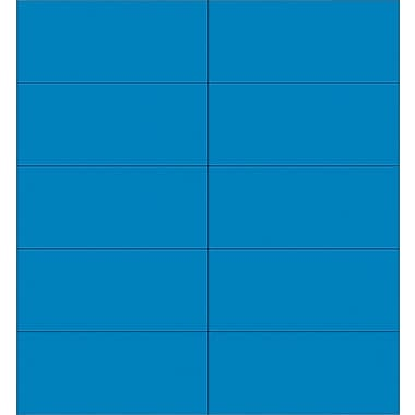 Master Vision 7/8in.(H) x 2in.(L) Dry Erase Magnetic Tape Strip, Blue