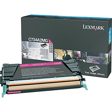 Lexmark C734/X734 Magenta Toner Cartridge (C734A2MG)