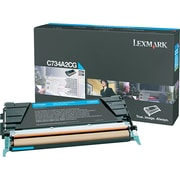 Lexmark Cyan Toner Cartridge (C734A2CG)