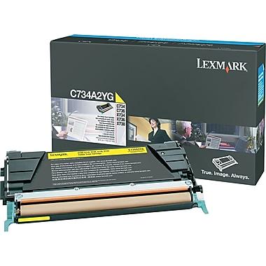 Lexmark Yellow Toner Cartridge (C734A2YG)