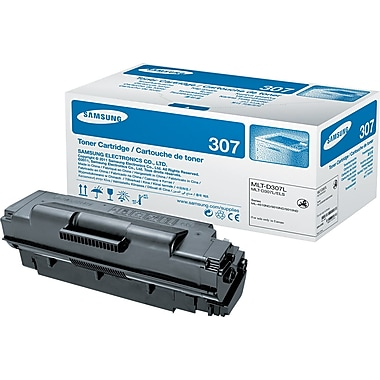 Samsung 307 Black Toner Cartridge (MLT-D307L), High Yield