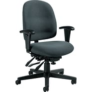 Global Granada® Polypropylene Low Back Multi-Tilter Chairs