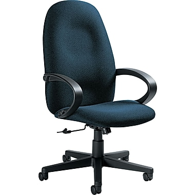 Global Enterprise® High Back Polypropylene Swivel/Tilt Chair, Ocean Blue