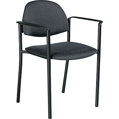 Global Comet™ 100% Polypropylene Stacking Chair, Gray