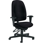 Granada 32173NBKPB09 High-Back Office Chair, Black