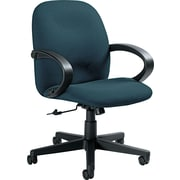 Global Enterprise® Low Back 100% Polypropylene Swivel/Tilt Chair, Ocean Blue