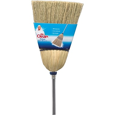 Mr. Clean Deluxe Corn Broom