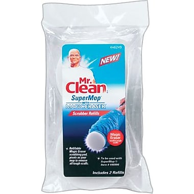 Mr. Clean Magic Eraser Super Twist Mop, Scrubber Refill