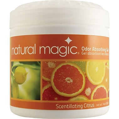 Natural Magic Odor Absorbing Gel, Scentillating Citrus