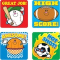 Carson-Dellosa Sports Motivational Stickers